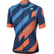 Sportful Volt Jersey Men twilight blue/electric blue/orange